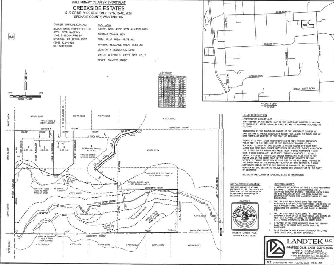 Creekside-Survey_Map